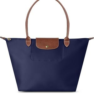 Navy Longchamp Bag